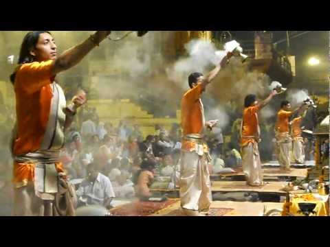 Varanasi - Ganga Aarti with Doop:  November 2011
