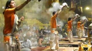 Varanasi - Ganga Aarti with Doop:  November 2011