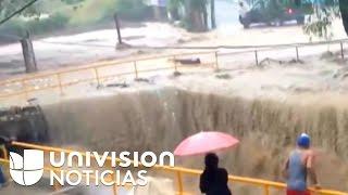 Alerta roja en República Dominicana por inundaciones luego de dos semanas de lluvias