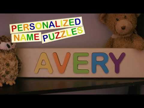 Personalized Name Puzzle (2017)