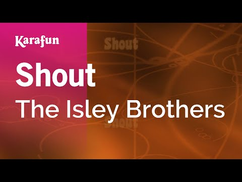 Karaoke Shout - The Isley Brothers *