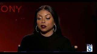 Taraji P. Henson talks to KTLA about her crazy side on