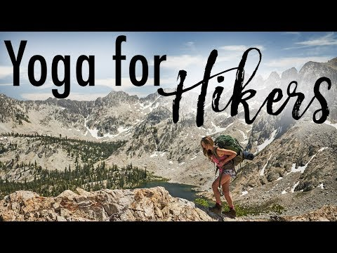 Yoga For Hikers | Post Hike Stretches for Tired Legs
