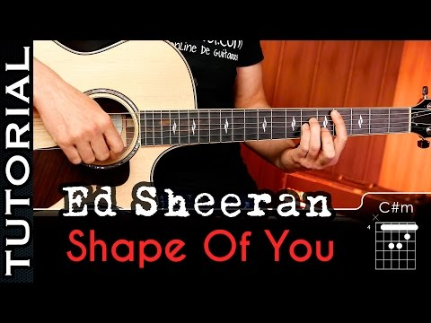 How To play Shape Of You on guitar Chords   | Guitarraviva
