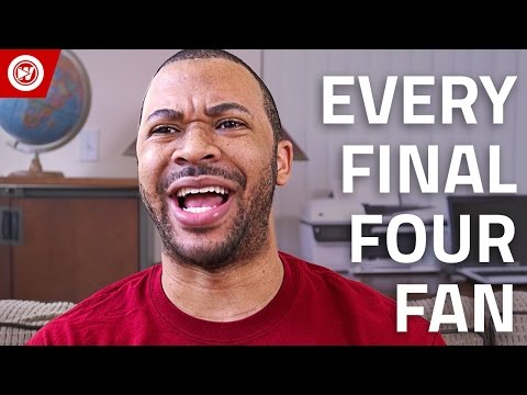 Every Fan In 90 Seconds | Final Four 2017