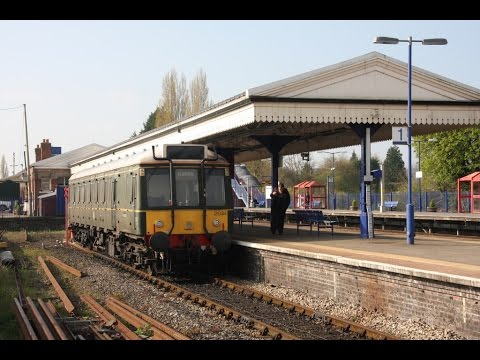 """Chiltern Railways """"Bubble Car"""" 121 034"""