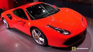 2018 Ferrari 488 GTB - Exterior and Interior Walkaround - 2017 Frankfurt Auto Show