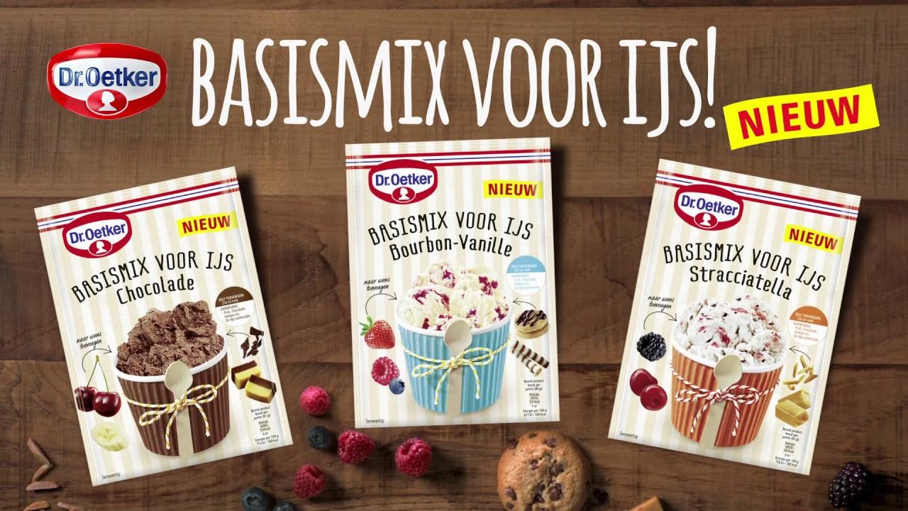 Dr Oetker: Basismix voor ijs