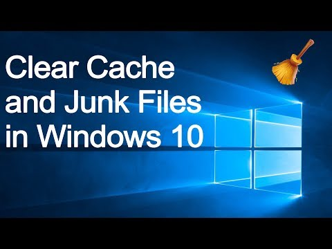 How to clear junk files and cache in windows 10 | Clean cache without using any software