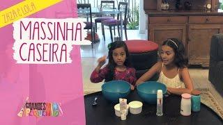 Baixar Zazá e Lola: Fazendo massinha com farinha, pasta de dente e água