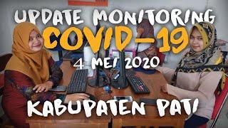 UPDATE !!! ADA 6 PASIEN POSITIF KARANTINA DI RUMAH ??? ☢ COVID-19 KABUPATEN PATI (4 MEI 2020)