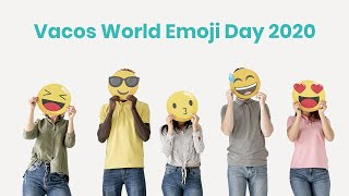 #WorldEmojiDay2020 -  Mask On and Be Safe #VacoCam