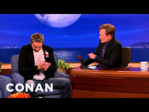 Dax Shepard: The Expendables Has The Gayest Scene Ever - CONAN on TBS