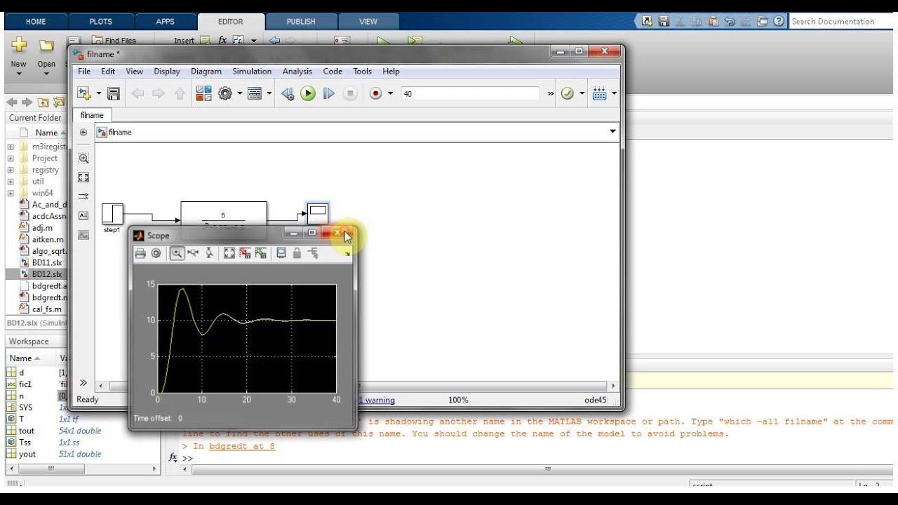 block diagram reduction in matlab simulink [ 1280 x 720 Pixel ]
