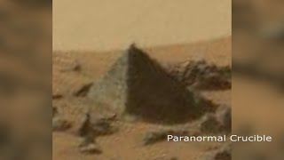 Pyramid Found On Mars?
