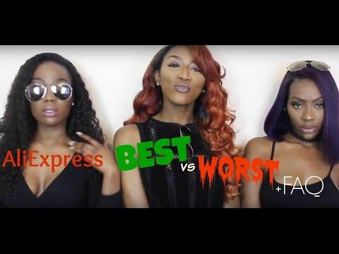 ALIEXPRESS BEST +  WORST HAIR + HAIR FAQ