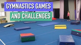 10 FUN Gymnastics Games and Challenges!