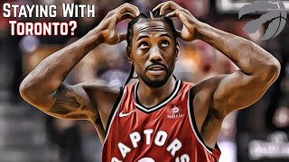 Will Kawhi Leonard STAY With The Raptors? | Klaw Saga Episode 1