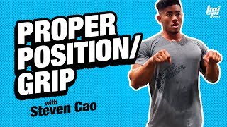 Proper Positions Before Lifting with IFBB Pro Steven Cao