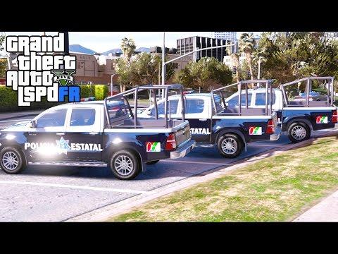 GTA 5 LSPDRF #45 |POLICÍA LA PAZ BCS- POLICÍA BAJA CALIFORNIA SUR --MÉXICO|EdgarFtw