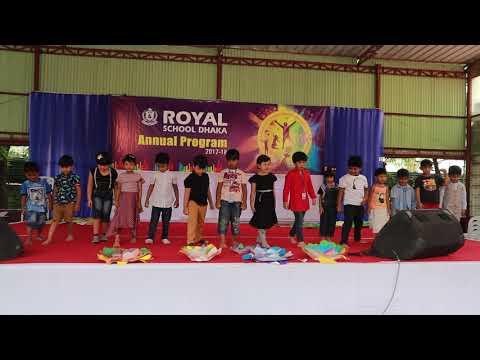 Royal school Dhaka Annual Program nursery 2017