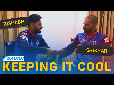 Daikin Keepin It Cool With Rishabh Pant and Shikhar Dhawan
