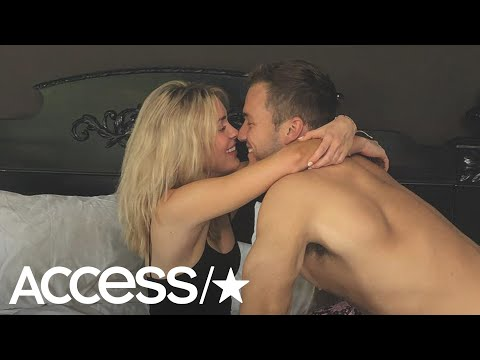 'The Bachelor' Colton Underwood Shares Shirtless Snap In Bed With Cassie | Access