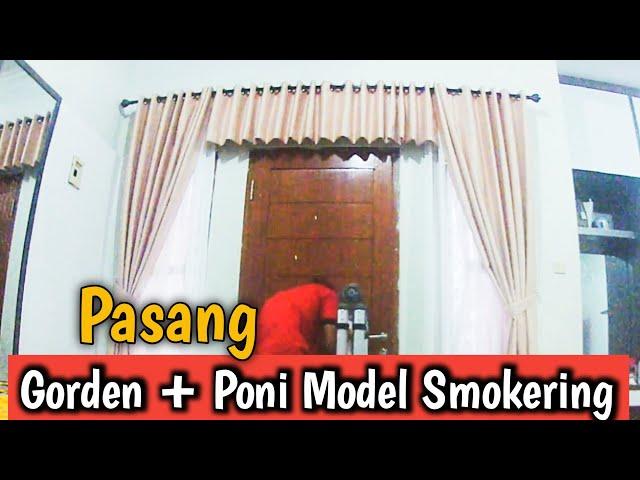 PASANG GORDEN DAN PONI PAKAI BAHAN BLACKOUT | PesanGorden.id