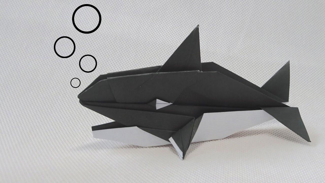 Origami Killer Whale Robert J Lang John Montroll