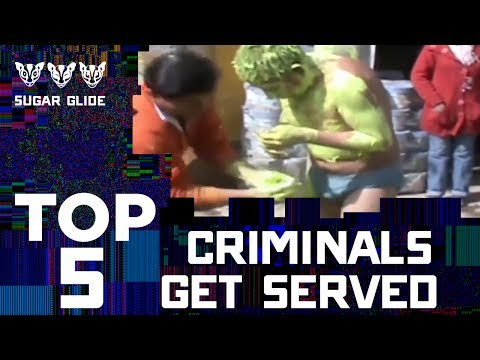 TOP 5 Criminals Getting Served⛓😸🔥 | Sugar Glide | Telemundo English