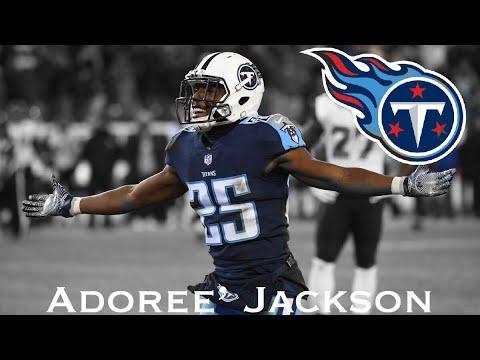 "Adoree Jackson Tennessee Titans Rookie Highlights ~ ""Look Alive"" ᴴᴰ"
