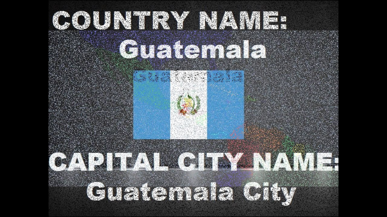 Countries And Capital Cities With The Same Name YouTube - Country name and capital city