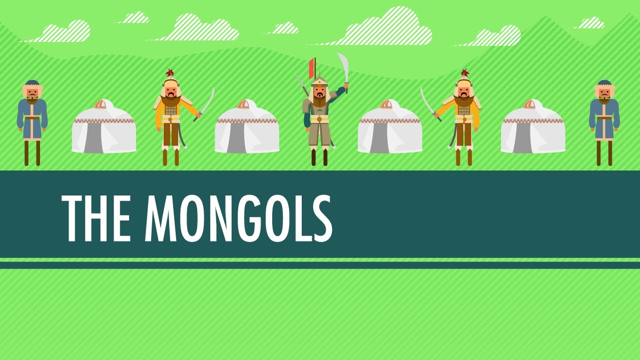 Wait For It   The Mongols!: Crash Course World History #17