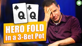 HERO Fold with Over-Pair!? [3-Bet Pot]