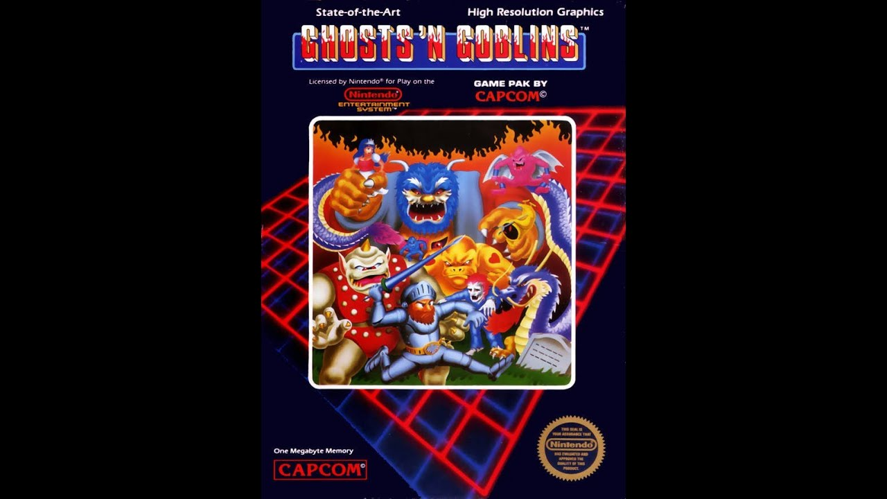 Image result for ghosts and goblins nes