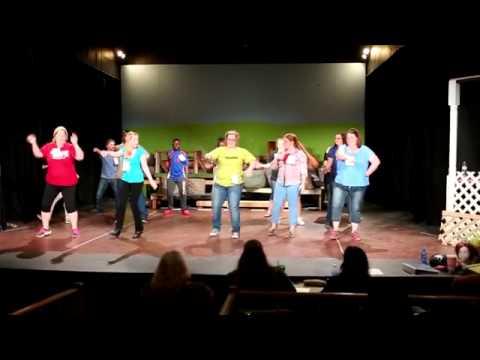 Shrek Auditions 1st night