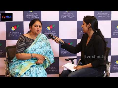 Jayasudha Exclusive Interview at Annapurna International School of Film And Media | TVNXT Hotshot