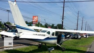 plane makes emergency landing on busy highway in new jersey   mashable news