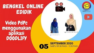Download Lagu VIDEO BAHAN PDPC MENGGUNAKAN APLIKASI DOODLIFY DAN KINEMASTER mp3