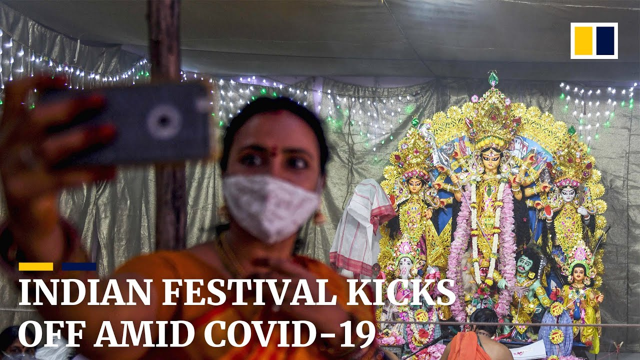 India's Durga Puja festival kicks off amid coronavirus restrictions