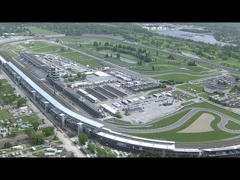 WATCH: Helicopter Tour Of Indianapolis Motor Speedway