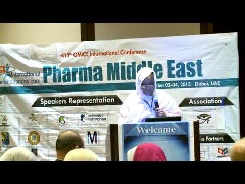 Suad Yousif Abdalla Alkarib | Sudan | Pharma Middle East 2015| Conference Series LLC