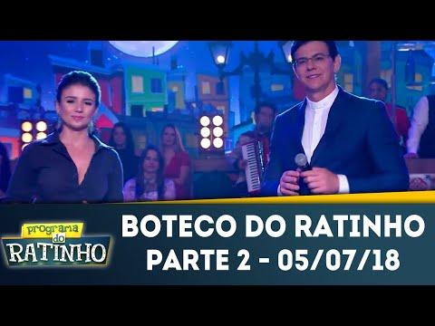 Boteco Do Ratinho - Parte 2 | Programa Do Ratinho (05/07/2018)