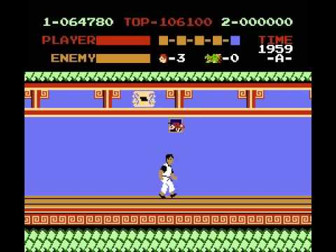 Kung Fu (NES) Playthrough.