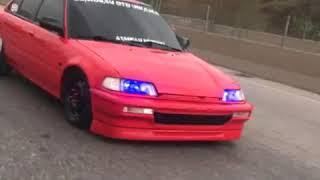 Honda Civic Ef Slammed
