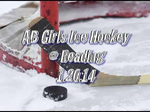 Acton Boxborough Varsity Girls Hockey @ Reading 1/20/14