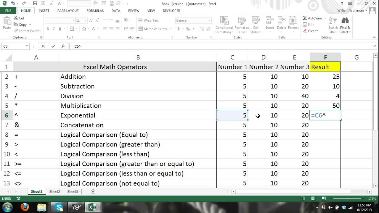 excel tutorial formulas and functions for beginners 1 microsoft