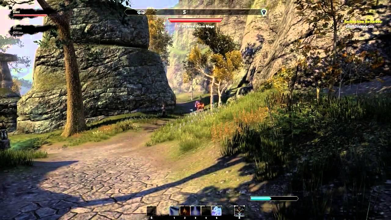 The Elder Scrolls Online with Dan Bull: Exploring the world