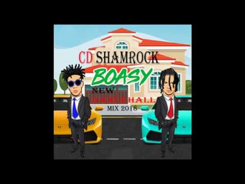 BOASY / NARKOZ ( NEW DANCEHALL)  MIX 2018 / CD SHAMROCK