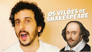 Os Vilões de Shakespeare - Novo Curso online Casa de Teatro de Poa